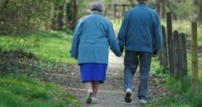 Senior dating er populær